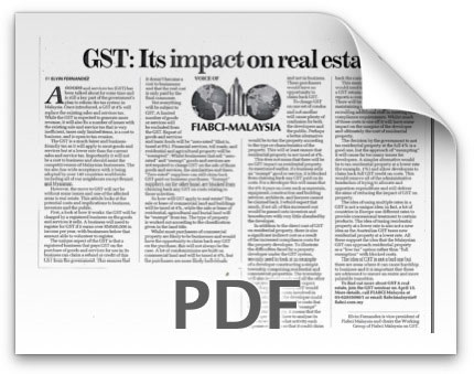 GST: Its impact on real estate - The Sun