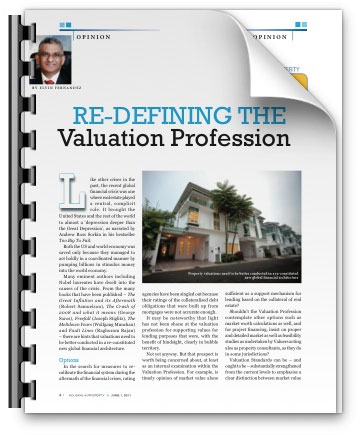 Re-defining the Valuation Profession - Malaysian Business