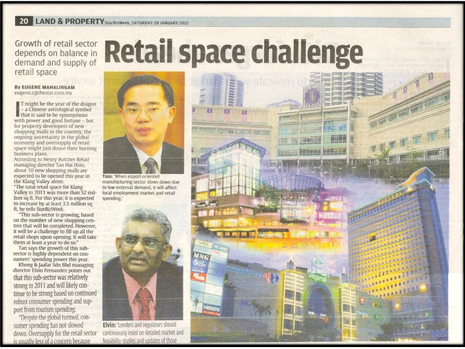 Retail space challenge