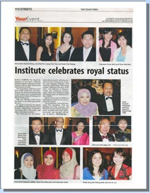 Institute celebrates the Royal status